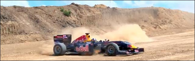 video hd Formule 1 drift Red Bull David Coulthard Circuit des Ameriques US GP 2012