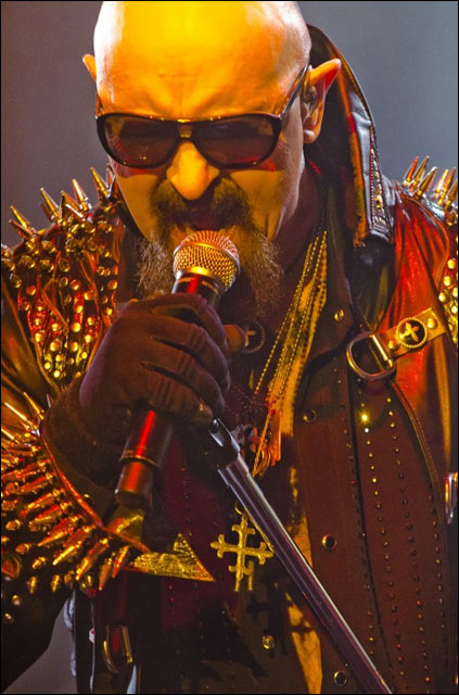 photo hd concert Judas Priest live Foire aux Vins Colmar 2011 FAV heavy metal
