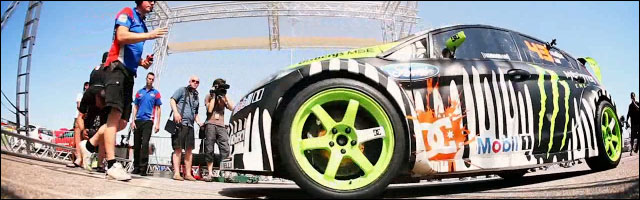 video hd Ken Block Gymkhana 4 Autriche drift machine gimkana gymkana gymkanna