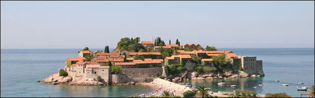 photo village Sveti Stefan Montenegro reportage photographie hotel luxe adriatique