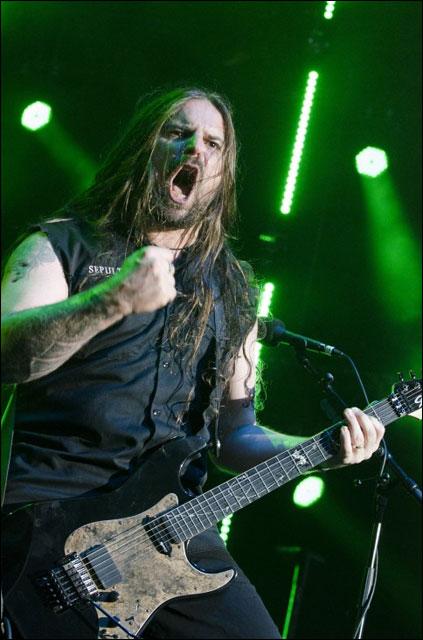 photos hd concert Sepultura live Foire aux Vins 2011 Colmar FAV Alsace metal rock