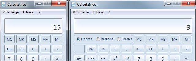 logiciel Calculatrice Windows erreur de calcul ordre des operations explication bug
