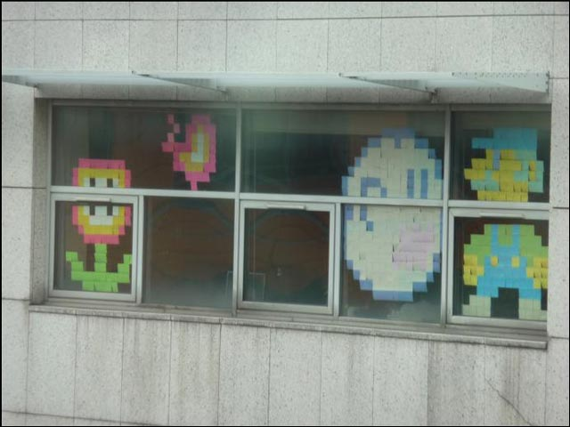 photo video post it war guerre post il Ubisoft BNP OVH