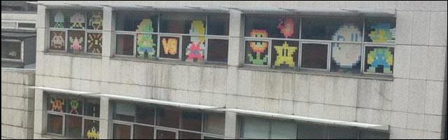 photo video post it war guerre post il Ubisoft BNP OVH