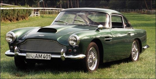 photo Aston Martin DB4 - 1958 1963 - Vantage - GT Zagato
