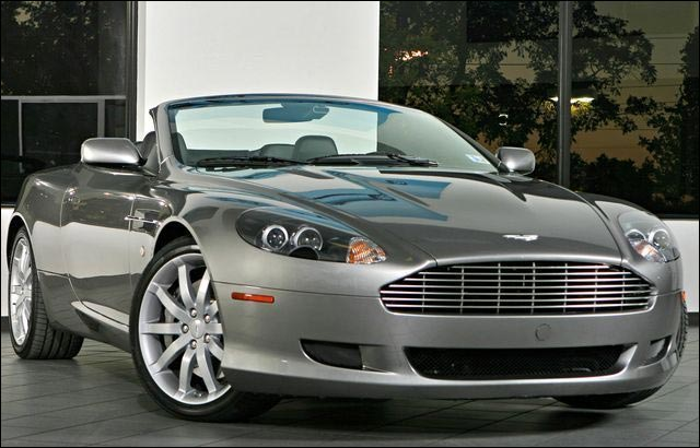 photo Aston Martin DB9 Volante cabriolet