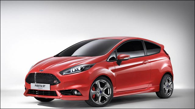 photo nouvelle Ford Fiesta ST RS 2012 au Salon automobile de Francfort Allemagne