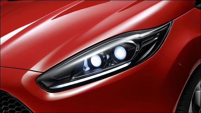 photo nouvelle Ford Fiesta ST RS 2012 au Salon automobile de Francfort Allemagne