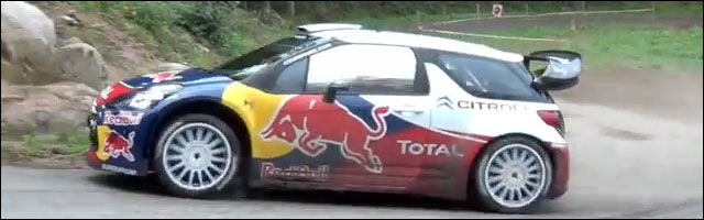 photo et video hd Rallye de France 2011 Citroen DS3 WRC 2011 Sebastien Loeb