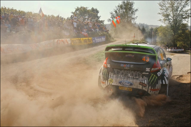 photo video hd Rallye de France 2011 Ford Fiesta WRC Ken Block