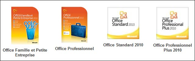 Microsoft Office 2010 Home Famille TPE Etudiant carte activation telechargement