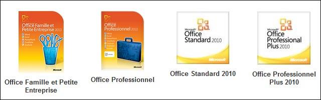 Microsoft Office 2010 Home Famille TPE Etudiant carte activation telechargement