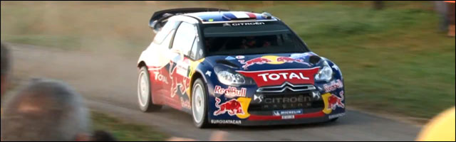 video hd resume Rallye de France 2011 week end Citroen DS3 WRC