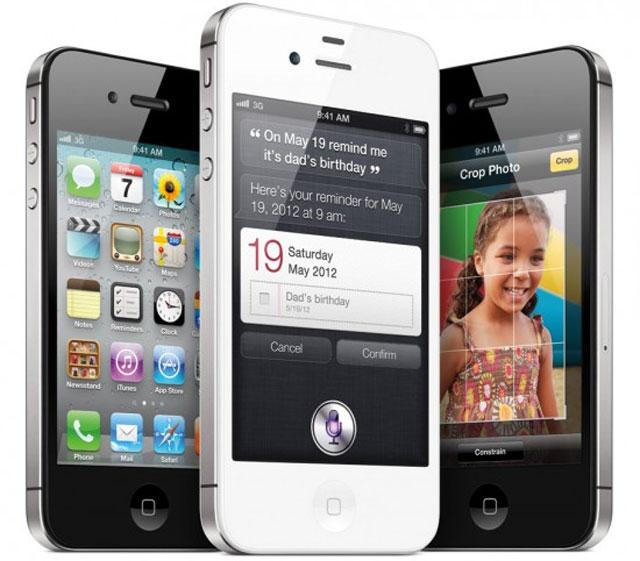 presentation nouveau smartphone Apple iPhone 4S remplacant ip4 photo tableau