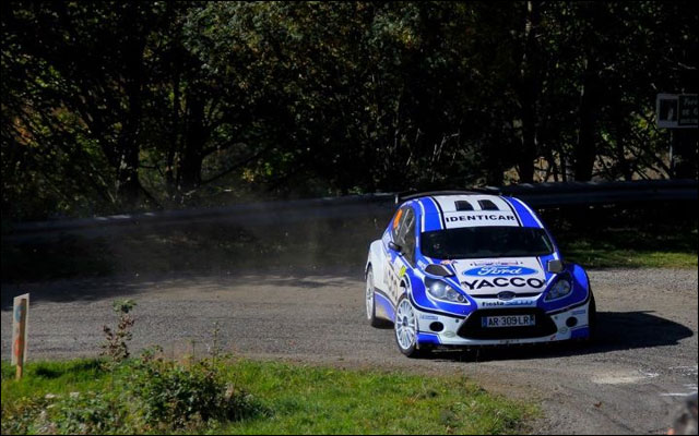 photo Rallye de France 2011 WRC route montagne Alsace Ford Fiesta S2000