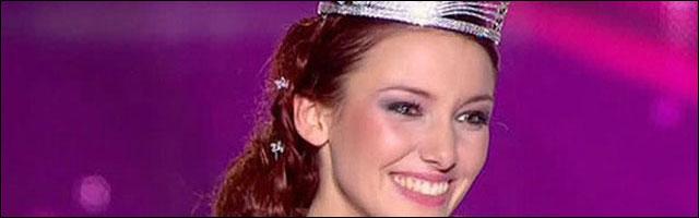 photo Delphine Wespiser elue Miss France 03 decembre 2012 TF1