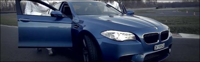 presentation video hd BMW M5 2012 circuit Anneau du Rhin Biltzheim Joyeux Noel