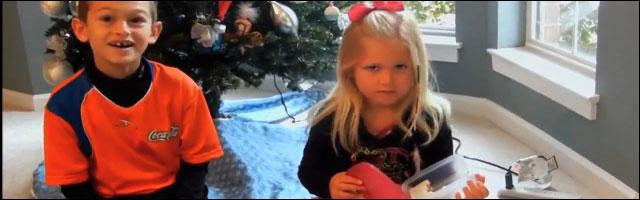 video insolite offrir mauvais cadeau Noel enfant triste blague pas drole