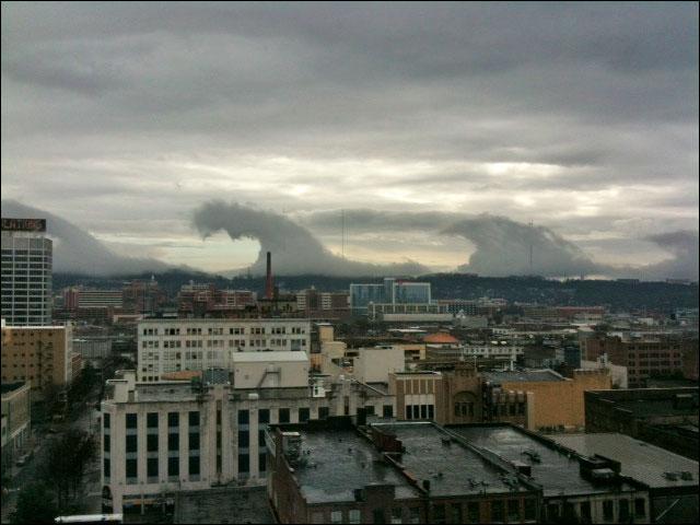 photo phenomene nuage forme vague instabilite Kelvin Helmholtz wikipedia