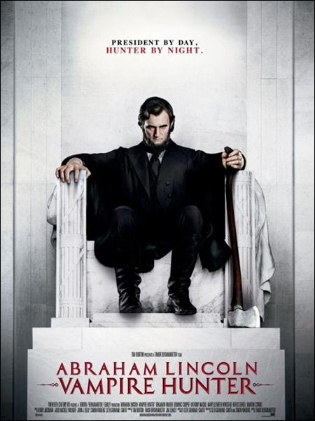 bande annonce hd trailer film Abraham Lincoln chasseur vampires nimp wtf