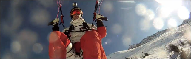 GoPro video hd sport extreme parapente ski escalade wakeboard saut looping