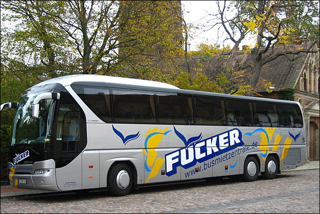 photo Fucker Bus tour societe autobus Allemagne fuecker go focker video