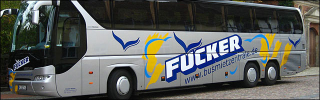 photo Fucker Bus tour compagnie autobus Allemagne fuecker go focker