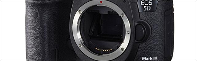 test caracteristiques Canon EOS 5D MKIII Mark III nouveau boitier APN