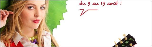 affiche programme officiel FAV Foire aux Vins Colmar 2012 concert Alsace Johnny