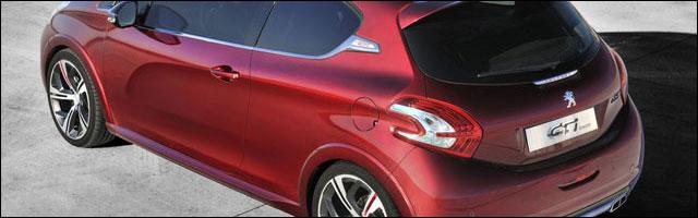 presentation photo nouvelle Peugeot 208 GTi Concept remplacante 207 RC