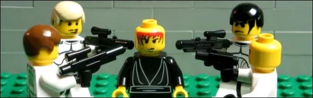 LEGO acteur film video bande annonce minifilm short movie fait avec briques Lego