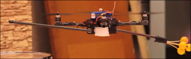 video buzz musique assistee par ordinateur drone controle instrument MAO