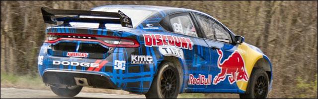 Dodge Dart 2013 version Travis Pastrana rallye automobile america 600hp