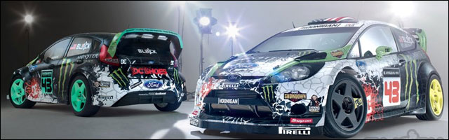 mini ken block fait du drift dans un skatepark blog note. Black Bedroom Furniture Sets. Home Design Ideas