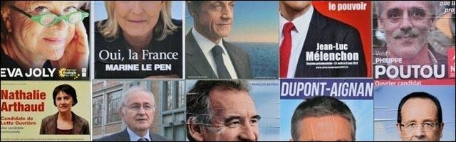 video hd toutes affiches election presidentielles 2012 nouveau president republique