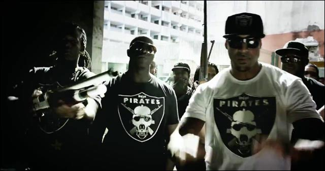 clip video Booba parodie logo equipe football US americain LA Oakland Raiders