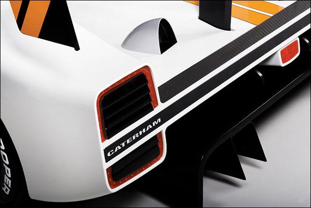 presentation bolide roadster Caterham SP300R photo et video 2litres 300ch