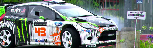 Ford Fiesta RS Ken Block Gymkhana 4 Four video bonus drift machine