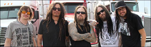 groupe musique Korn avec Brian Head Welch concert 2012 photo video
