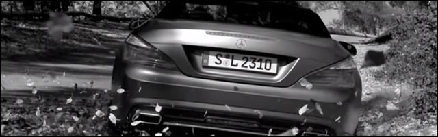 video promotion Mercedes SL roadster publicite buzz The SL Sting