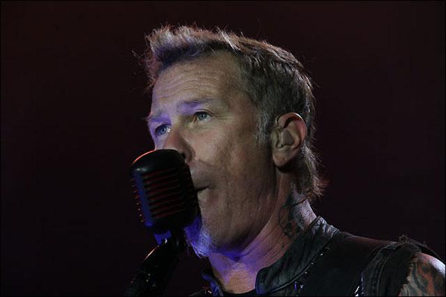 photo hd concert Metallica Paris 2012 Stade de France tournee Black album