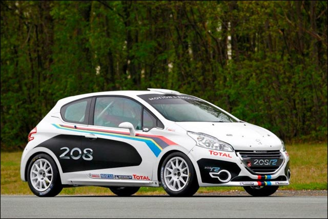 photo hd exclusive nouvelle Peugeot 208 Rallye R2 saison 2012 2013 2014