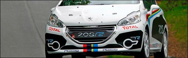 photos kit car carrosserie Peugeot 208 Rallye R2 saison 2012 2013 208R2