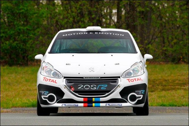 photo hd exclusive nouvelle Peugeot 208 Rallye R2 saison 2012 2013 2014