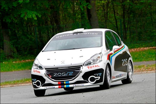photo hd exclusif nouvelle Peugeot 208 Rallye R2 saison 2012 2013 2014