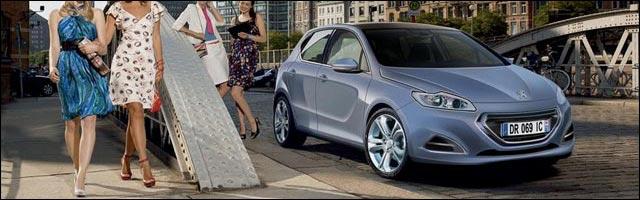 photo nouvelle Peugeot 301 remplacante 308 pas nommee 309 ni 310 GTI