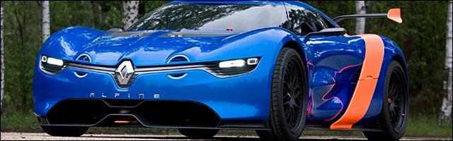 presentation officielle Renault Alpine A110-50 photo video lors GP F1 Monaco
