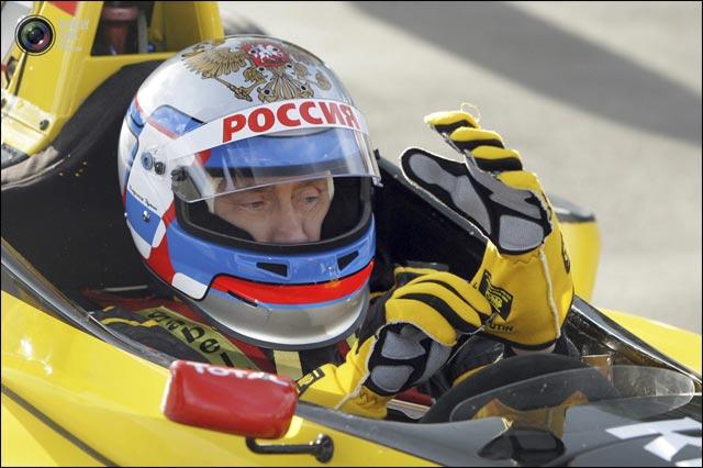 photo Vladimir Poutine pilote de Formule 1 F1 team Renault Sport