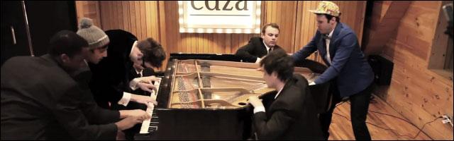 chanson JayZ Kanye West pianist niggas in paris reprise piano version classique