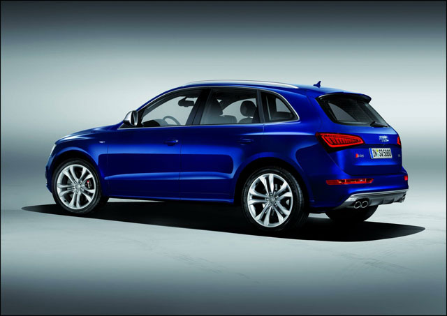 photo video hd presentation nouveau 4x4 Audi SQ5 TDI diesel 313ch Q5 S Q5S